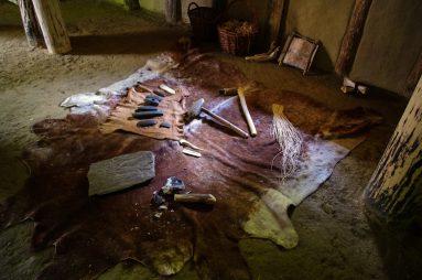 Prähistorisches Werkzeugsortiment